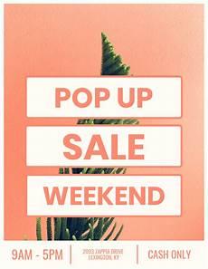 Sale Poster Ideas Pop Up Sale Creative Marketing Poster Idea Venngage