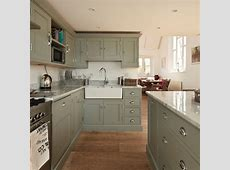 Green painted kitchen   Decorating ideas   Ideal Home