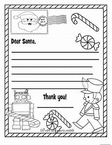 printable wish list to santa claus for for