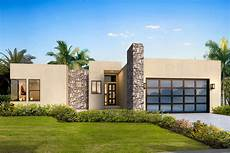 Modern House Floor Plans Free Contemporary One Level House Plan With Split Beds