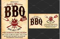 Chicken Bbq Flyer Template Barbecue Bbq Flyer Template Flyer Templates Creative