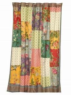 31 best vintage patchwork curtains images on