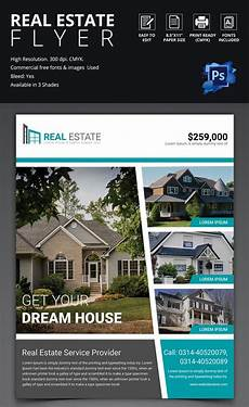 Commercial Real Estate Templates 44 Psd Real Estate Marketing Flyer Templates Free