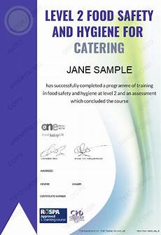 Level 2 Food Safety Questions Food Hygiene Training Level 2 Food Safety And Hygiene