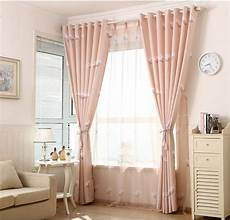 Bedroom Window Curtains Window Curtain Set Custom Made 2 Pcs Blackout Curtains For