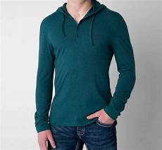 mens knit shirts sleeve new mens fox faulter sleeve knit henley shirt hoodie