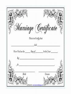 Printable Marriage Certificate Marriage Certificate Template Fill Online Printable