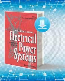 Analysis And Design Of Energy Systems Pdf Download Download Electrical Power Systems Design And Analysis Pdf