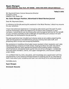 Marketing Sales Cover Letter 40 Free Cover Letters For Sales And Marketing Jobs