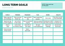 Long Term Goals Examples How To Use Short Term And Long Term Goals To Achieve More