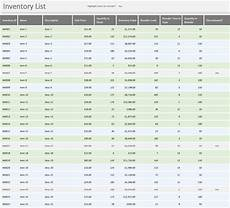 Excel Inventory Inventory Excel List With Reorder Business Insights Group Ag