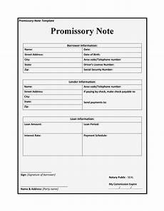 Secured Promissory Note Template Word 45 Free Promissory Note Templates Amp Forms Word Amp Pdf ᐅ