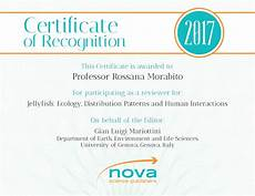 What Is Certificate Of Recognition Frequently Asked Questions Nova Science Publishers
