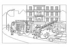 Malvorlage Playmobil Feuerwehr Feuerwehr Malvorlagen Ausmalbilder Feuerwehrauto Feuerwehrmann