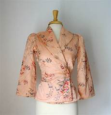 vintage bed jacket chiccityvintage