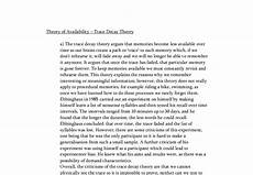 Trace Decay Theory A Level Psychology Marked By