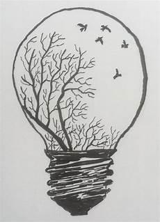 erleuchtung mit tusche zeichnungen zeichnungen ideen