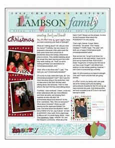 Holiday Family Newsletter Templates Christmas Family Newsletter Christmas Newsletter
