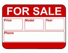 For Sale Car Sign Template Free Printable Car For Sale Temporary Sign
