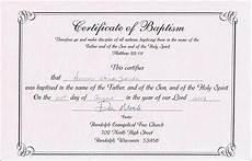 Christening Certificate Sample Baptism Certificate Templates Sample Certificate
