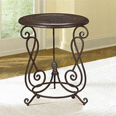 metal accent table hammary treasures metal accent end table ebay
