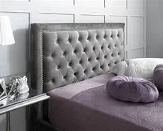limelight rhea 4ft6 plush silver velvet fabric