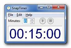Downloadable Timer Snaptimer Free Windows Countdown Timer