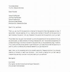 Thank You Letter For Interview Opportunity Thank You Letter For Interview 8 Free Sample Example