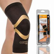 copper fit pro series knee sleeve pvc new copper fit pro series performance compression knee