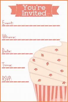 Blank Birthday Invitation Templates 7 Printable Invitation Templates Marital Settlements