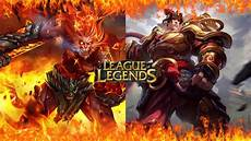 Malvorlagen Lol Wukong Wukong Vs Garen Patch 8 1 League Of Legends