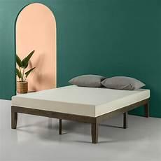zinus moiz 14 wood platform bed walmart