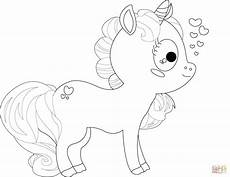 Malvorlagen Unicorn Baby Coloring Pages Of Baby Unicorns At Getcolorings Free