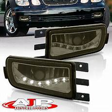 California Vehicle Code Fog Lights Front Bumper Smoked Lens Led Drl Fog Lights Lamps Pair For