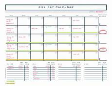 Printable Budget Calendar How To Budget Biweekly Pay Paying Monthly Bills