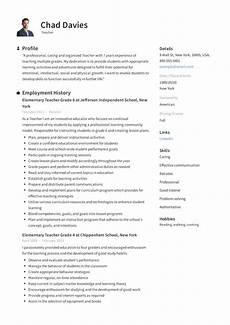 Writing A Teaching Resume Teacher Resume Amp Writing Guide 12 Samples Pdf 2019