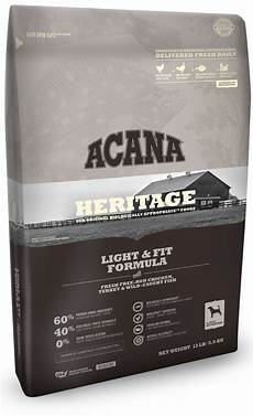 Acana Light Dog Food Acana Heritage Light And Fit Dry Dog Food All Is Well