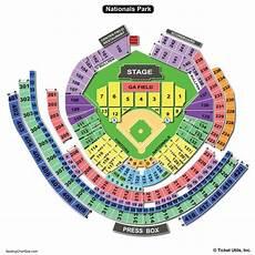 Washington Nats Stadium Seating Chart Nationals Park Seating Chart Seating Charts Amp Tickets