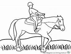 Malvorlagen Pferd Mit Reiterin Pferd Mit Reiter Malvorlage Coloring And Malvorlagan