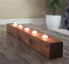 Tea Light Holder Crafts Rustic Diy Tea Light Candle Holder Diyideacenter Com