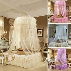 antique style princess bed canopy mosquito net netting new