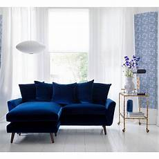 Blue Sectional Sofa 3d Image by Velvet Sofas Our Of Best Ideal Home