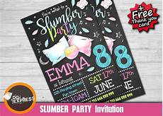 Free Printable Slumber Party Invitations Free 14 Slumber Party Invitation Designs Amp Examples In