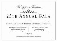 Formal Gala Invitations On Seeded Paper Very Vip By