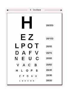 Illinois Dmv Eye Chart Eyes Vision Eye Vision Chart 6 6
