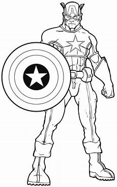 Malvorlagen Superhelden Coloring Pages Of Superheroes Printables Coloring Home