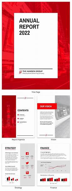 Annual Report Layout Design 55 Annual Report Design Templates Amp Inspirational Examples