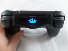 Does The Crystal Ps4 Controller Light Up Playstation 4 Ps4 Controller Kings Crown Light Bar Decal