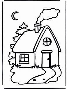 Ausmalbilder Haus Mit Schnee Ausmalbilder Haus Mit Schnee Kinder Ausmalbilder