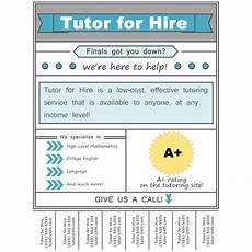 Math Tutor Flyer Examples Tutoring Flyer